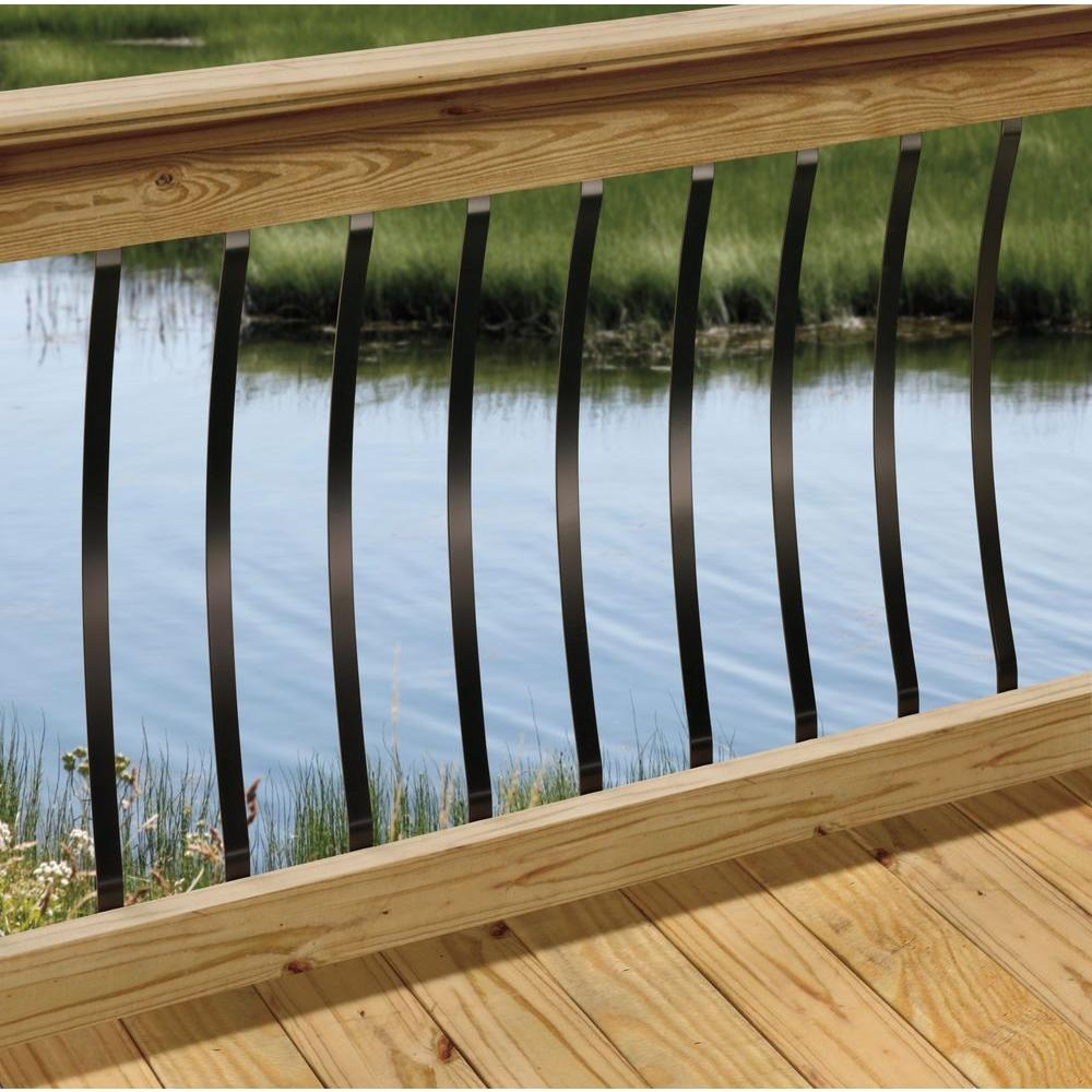 2 In X 4 In X 6 Ft Pressure Treated Wood Moulded Handrail | Pressure Treated Round Handrail | Menards | Aluminum Balusters | Baluster | Cedar | Porch