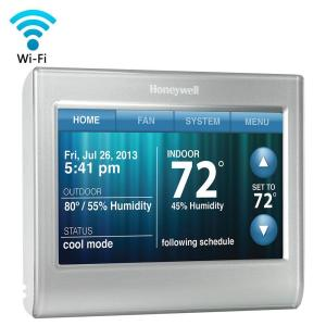 Honeywell WiFi Smart ThermostatRTH9580WF  The Home Depot