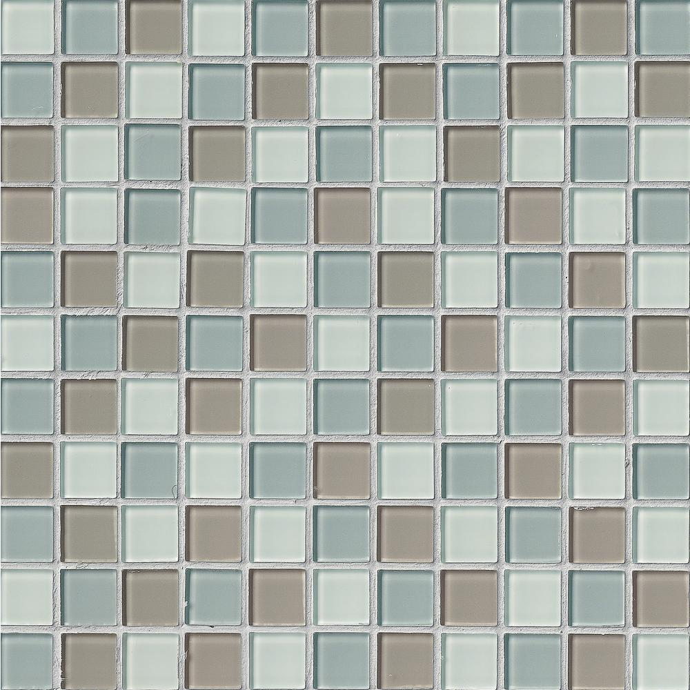 msi majestic ocean 12 in x 12 in x 4 mm polished glass mesh mounted mosaic tile 1 sq ft
