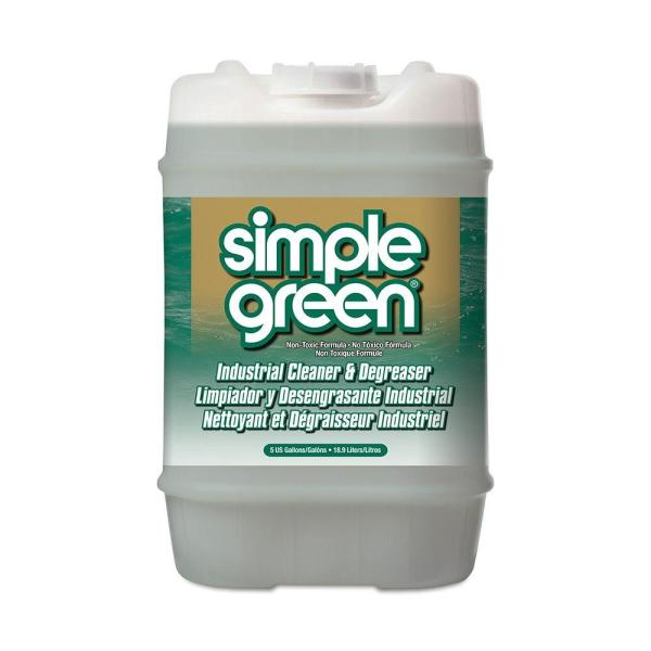 Simple Green 5 Gal  Sassafras Cleaner and Degreaser 13006   The Home     Sassafras Cleaner and Degreaser
