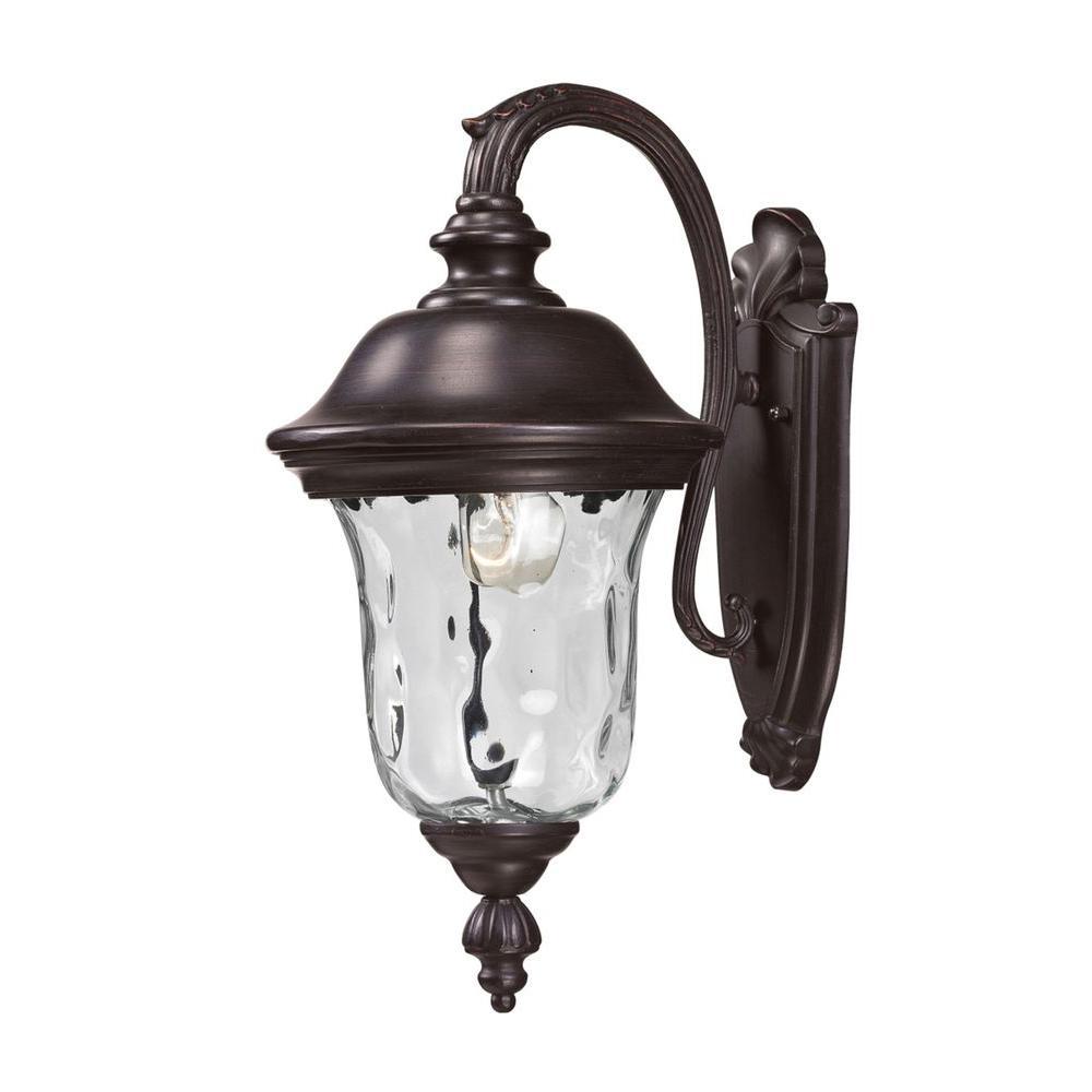 Lithonia Lighting Bronze Metal-Halide Outdoor Wall-Mount ... on Outdoor Lighting Fixtures Wall Mounted id=72194