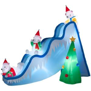 Home Accents Holiday 9 Ft Inflatable Lighted Airblown
