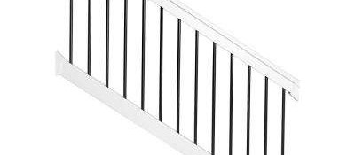 Deck Stair Railings Deck Railings The Home Depot | Outdoor Railings For Steps | Design | Hand | Porch | Front Door | Simple