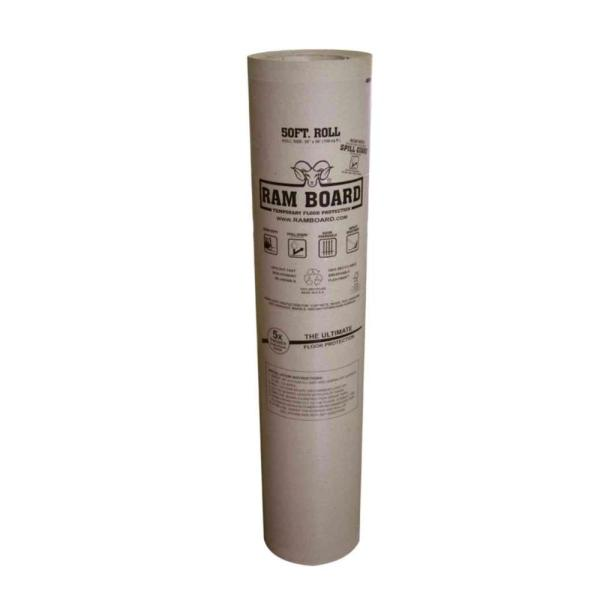 Ram Board 38 in  x 50 ft  Temporary Floor Protection Roll RB 38x50     Temporary Floor Protection Roll