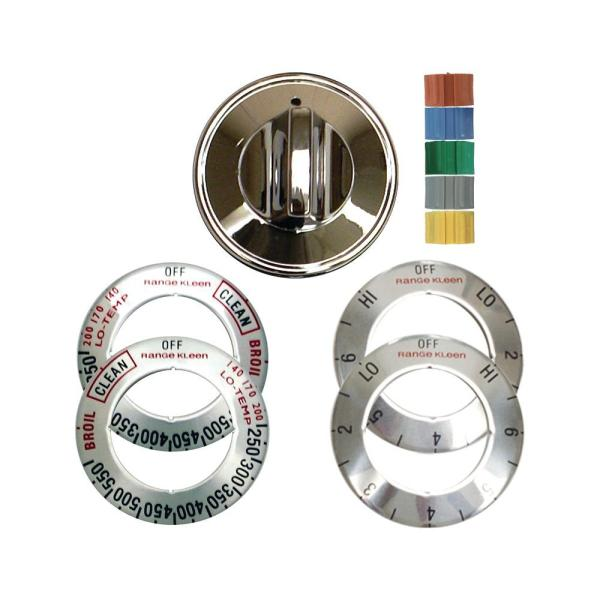 Range Parts   Kitchen Appliance Parts   The Home Depot Electric Replacement Knob in Chrome  1 Pack