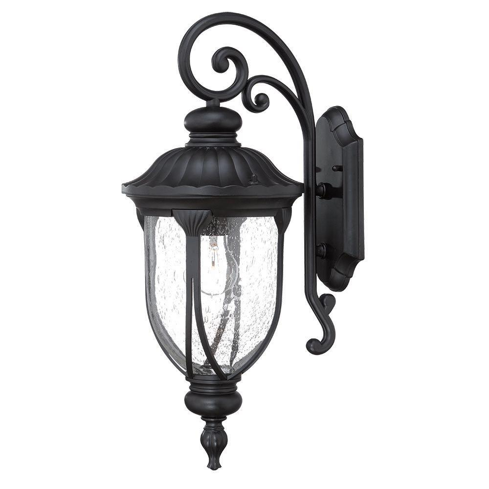 Acclaim Lighting Laurens Collection 1-Light Matte Black ... on Wall Mounted Decorative Lights id=98461