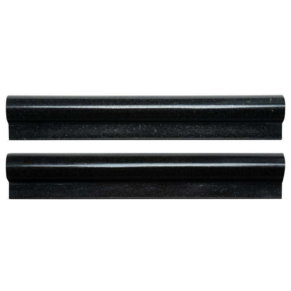 msi absolute black pencil molding 3 4