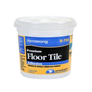 Armstrong S 750 1 Gal  Resilient Tile Adhesive 00750408   The Home Depot Resilient Tile Adhesive 00750408   The Home Depot