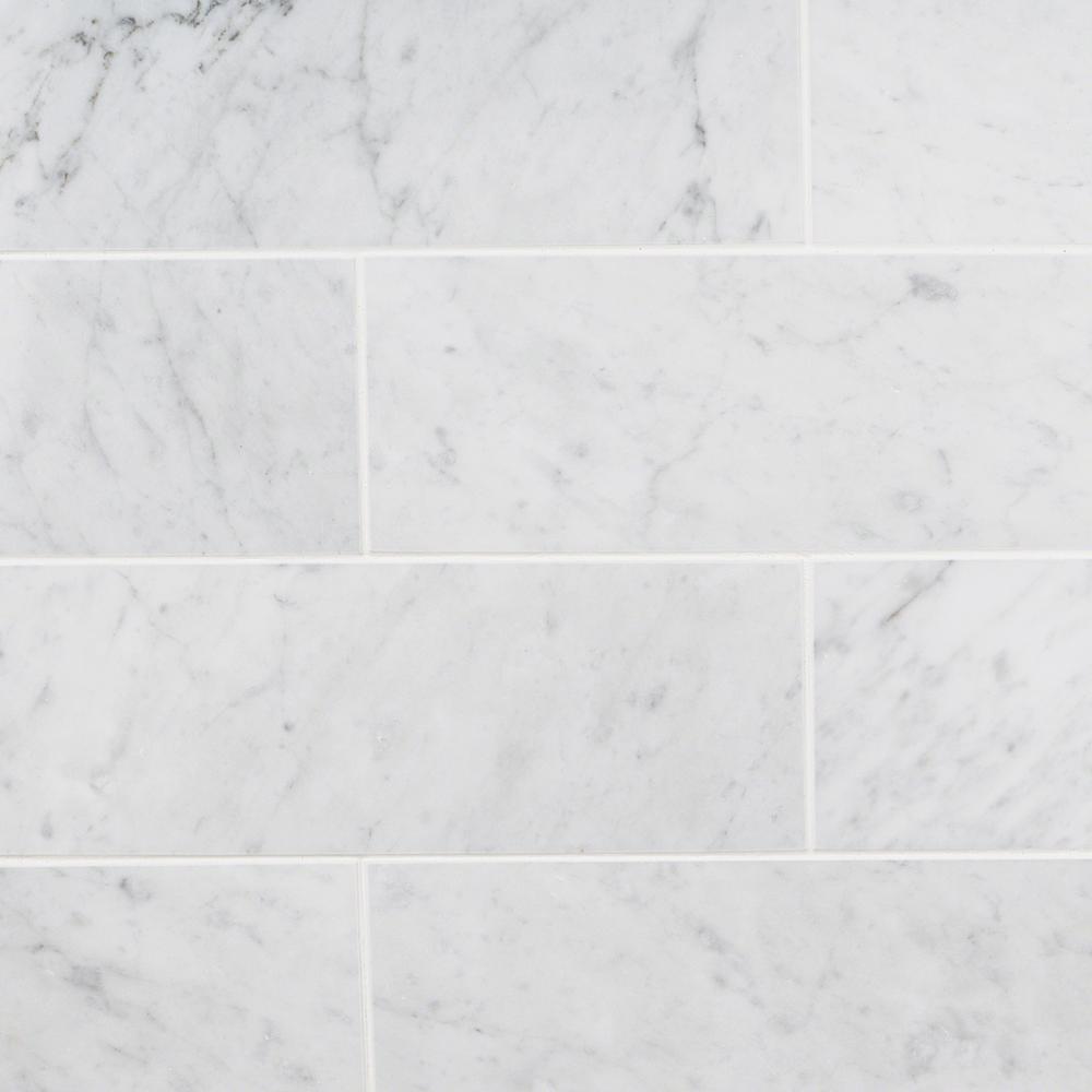 gray 3x6 subway polished marble tile