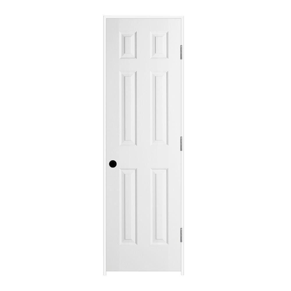 jeld wen 24 in x 80 in colonist primed left 24 In X 80 In Colonist Primed Textured Molded Composite id=23822