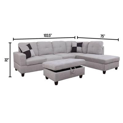 microfiber sectionals living room