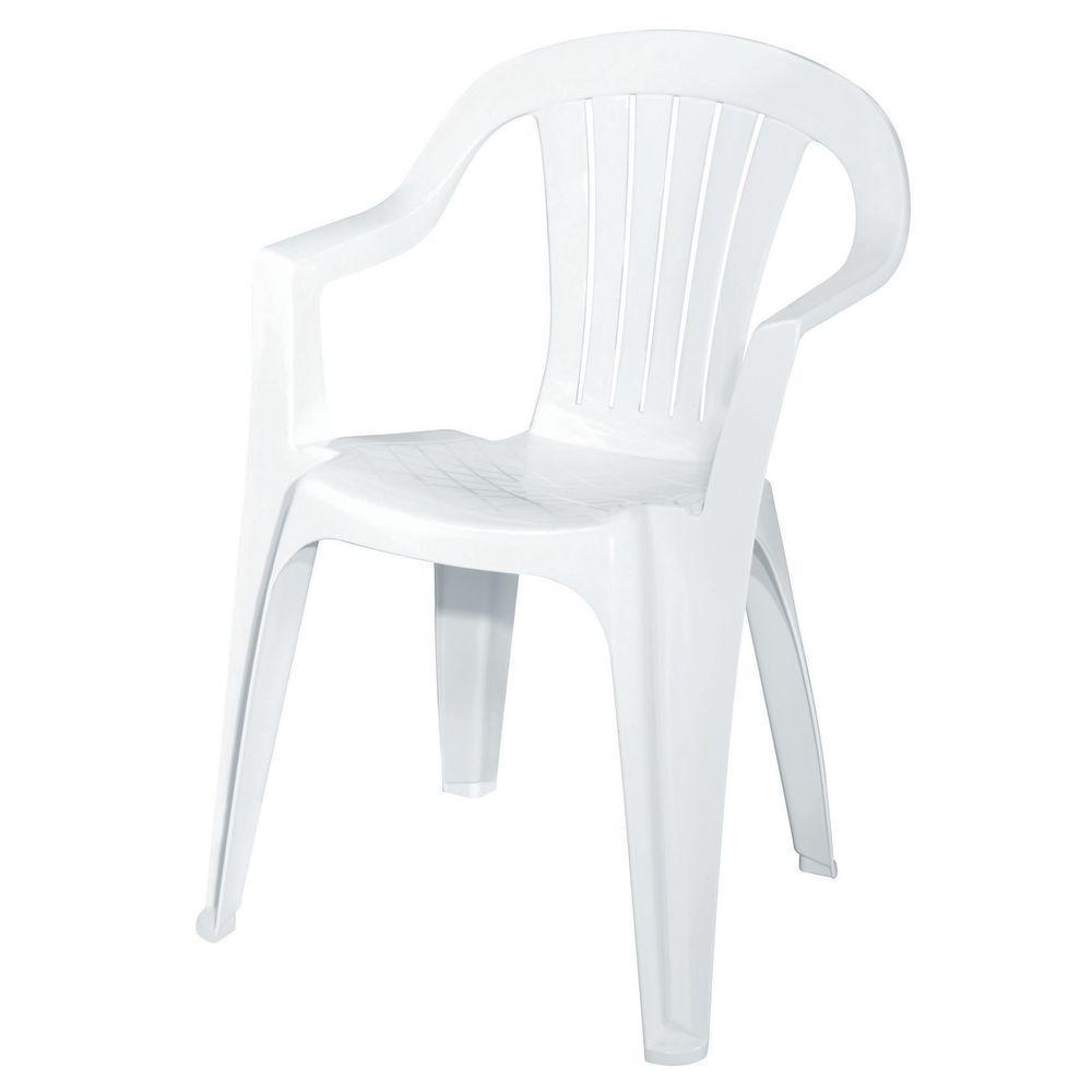 plastic chair low back plastic patio