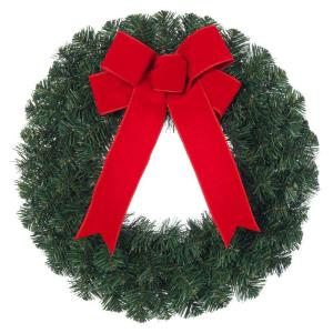 Home Accents Holiday 20 In Noble Pine Artificial Wreath