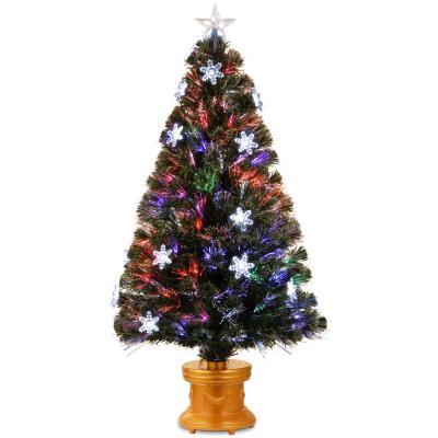 Small Fiber Optic Christmas Tree Target