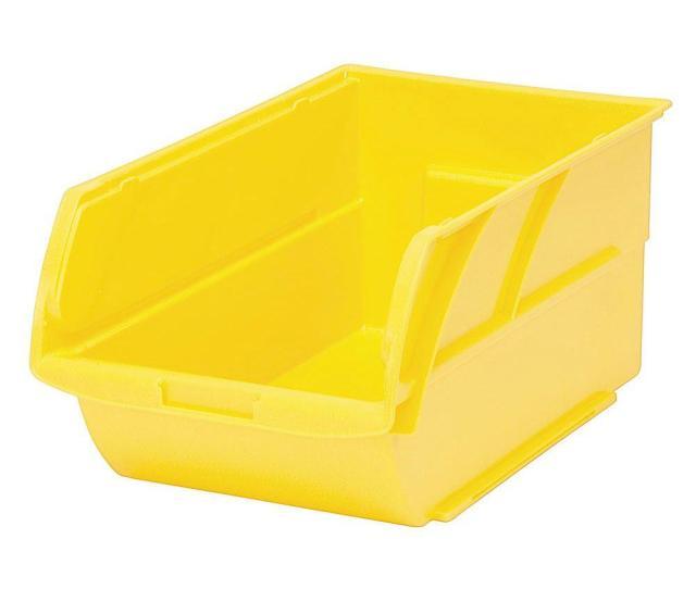 Stackable Storage Bin Yellow