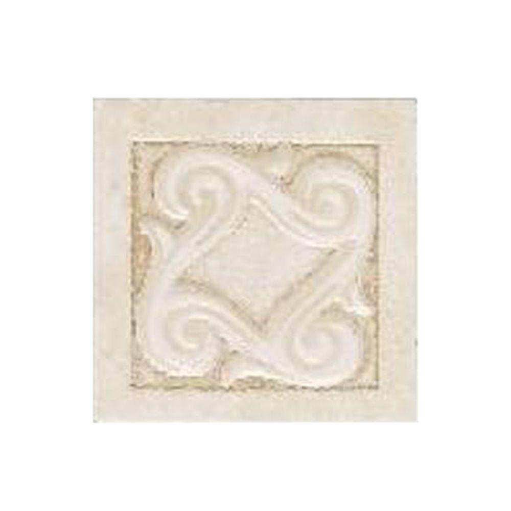 ᗔFashion Accents Crema Lindau In X In Ceramic Listello Wall - Daltile oakdale