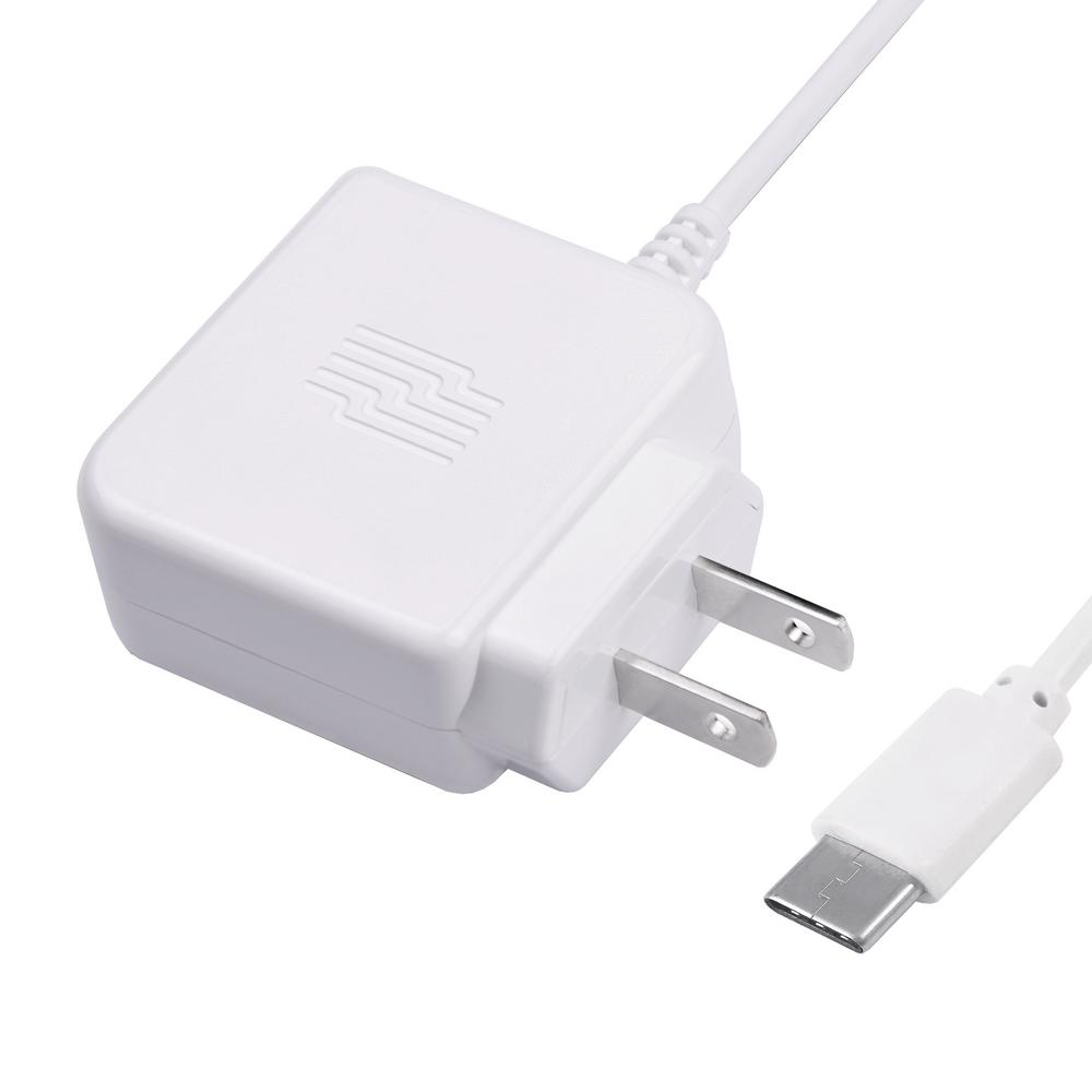 Zenith 3 Ft USB C Phone Wall Charger White PM1001WCC The Home Depot