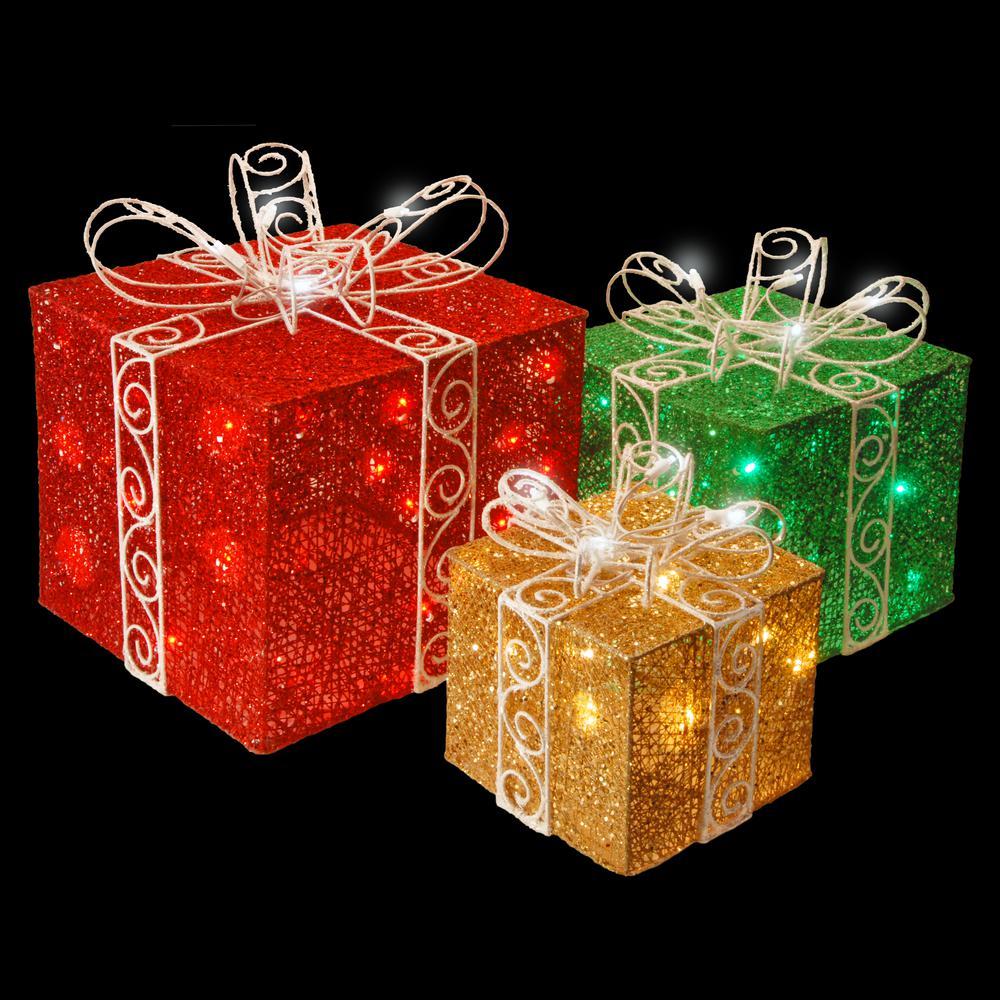 Green Christmas Lights Home Depot