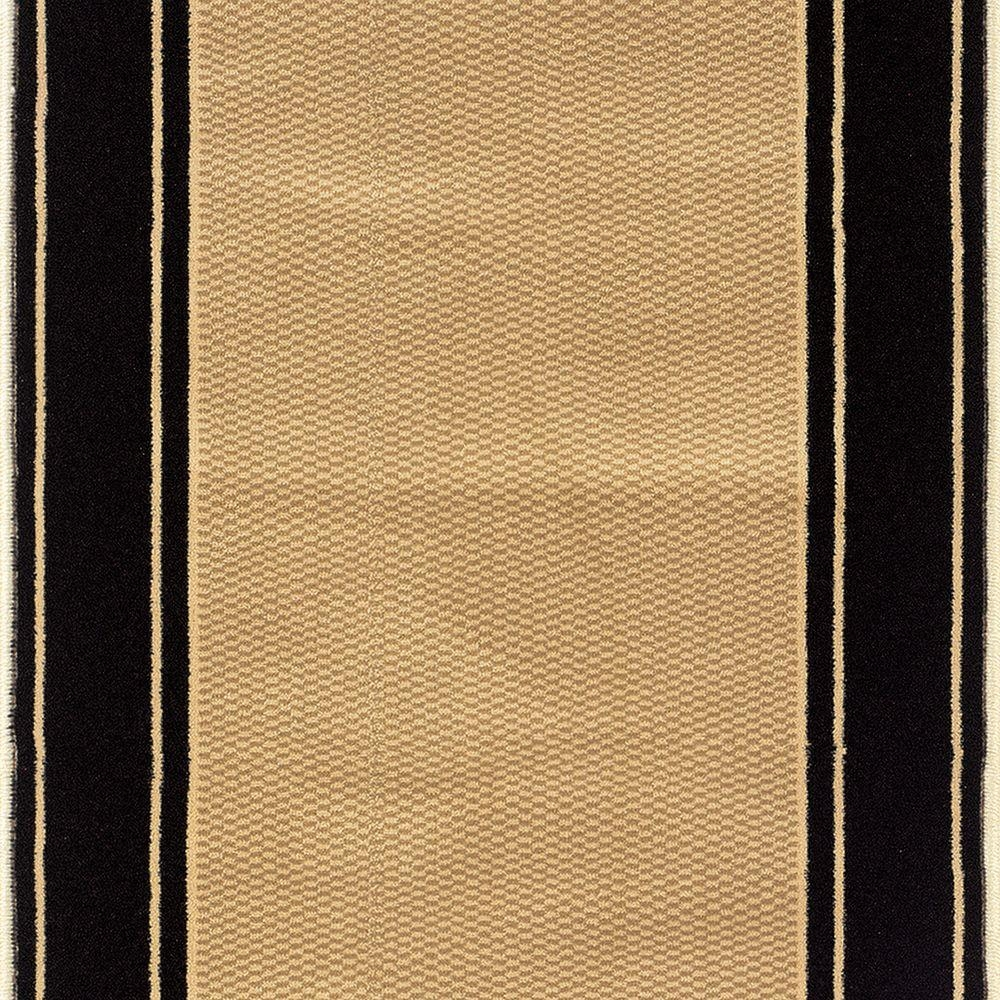 Natco Kurdamir Washington Black 33 In X Your Choice Length Stair | Home Depot Rug Runners By The Foot | Area Rugs | Regent Tan | Plastic | Carpet Protector | Mat