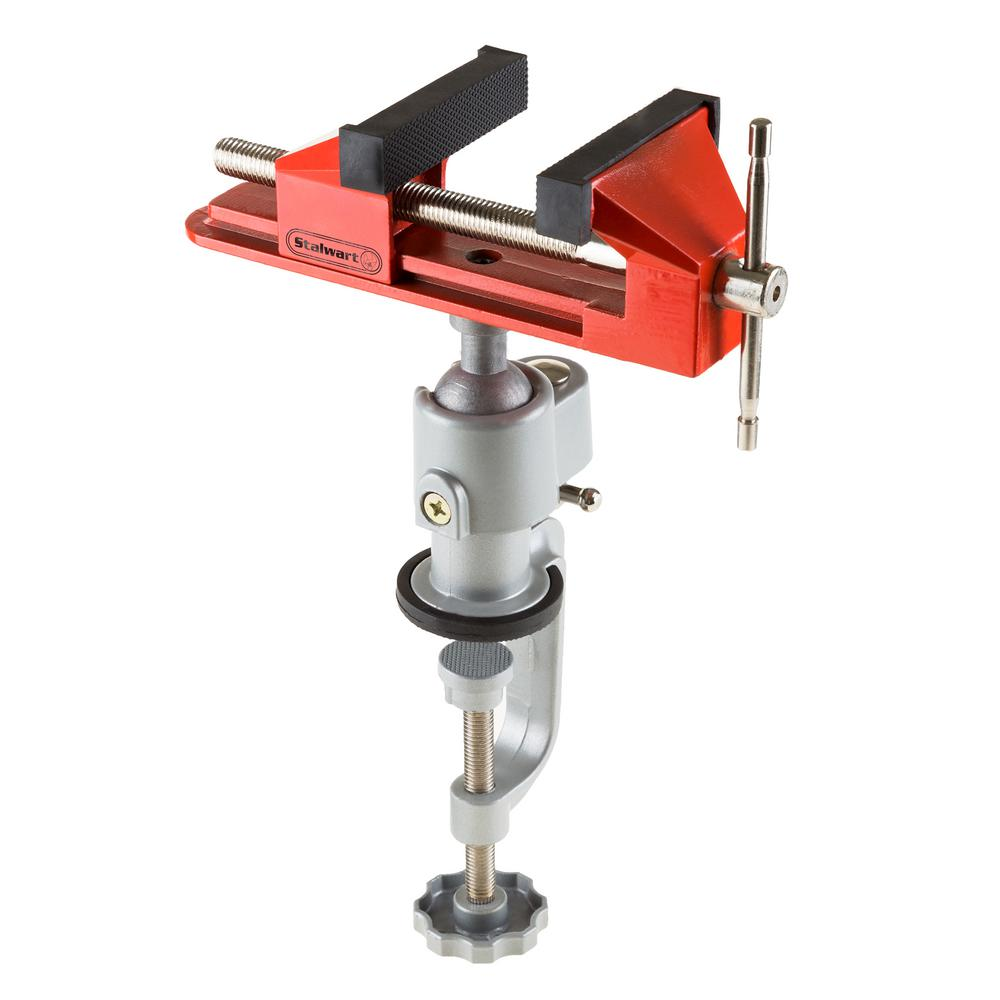 Stalwart 3 In Jaw Universal Vise With Swivel Base M550057