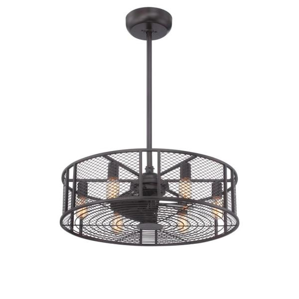 World Imports Boyd Collection 26 in  LED Indoor Oil Rubbed Bronze     LED Indoor Oil Rubbed Bronze Ceiling Fan with