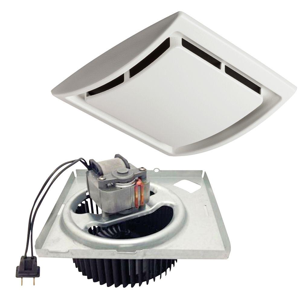nutone quickit 60 cfm 2.5 sones bath fan upgrade kit-qkn60s - the