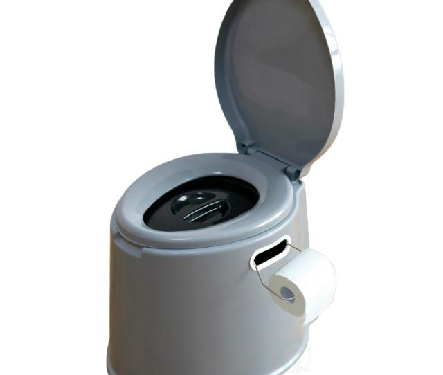 Playberg Portable Travel Toilet For Camping And Hiking Non Electric Waterless Toilet