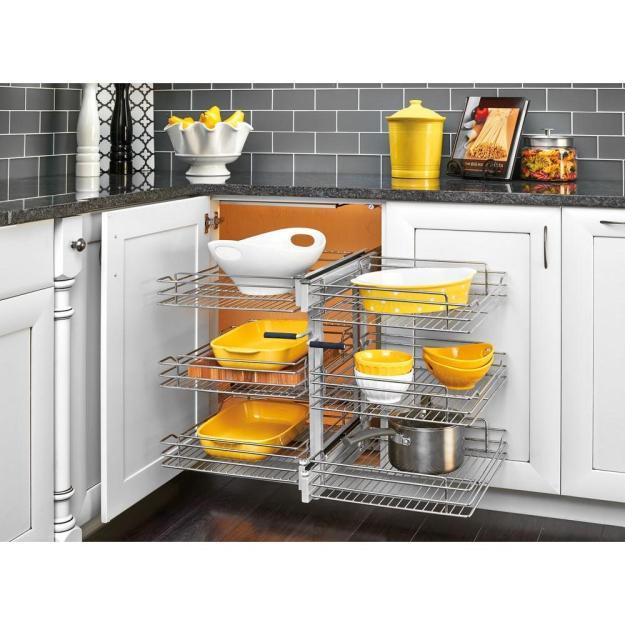 kitchen cabinet organizers - kitchen storage & organization - the