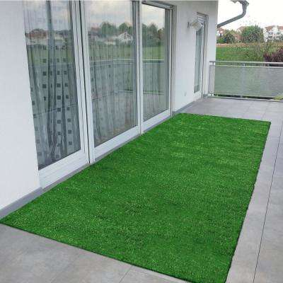 Artificial Turf   Rugs   Flooring   The Home Depot Evergreen Collection 2 ft  7 in  x 9 ft  10 in  Artificial