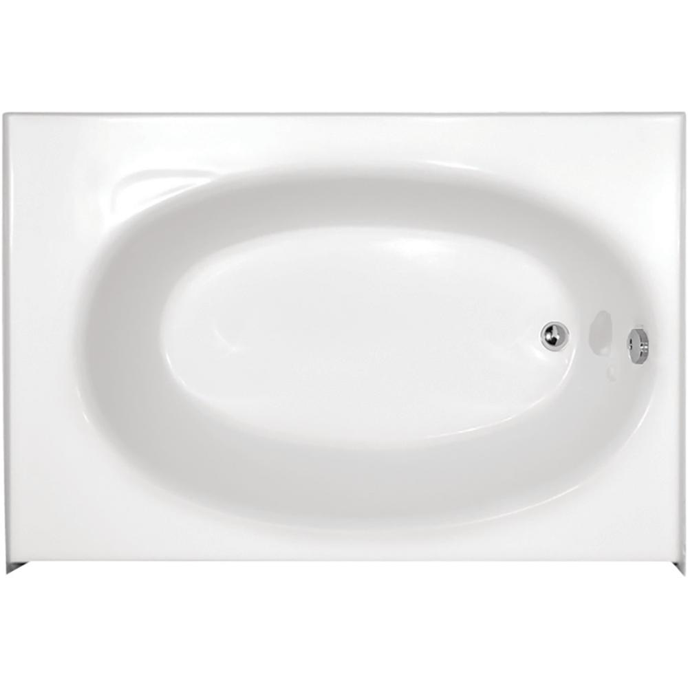 Hydro Systems Kona 5 Ft Right Drain Bathtub In White KON6036RTOW The Home Depot