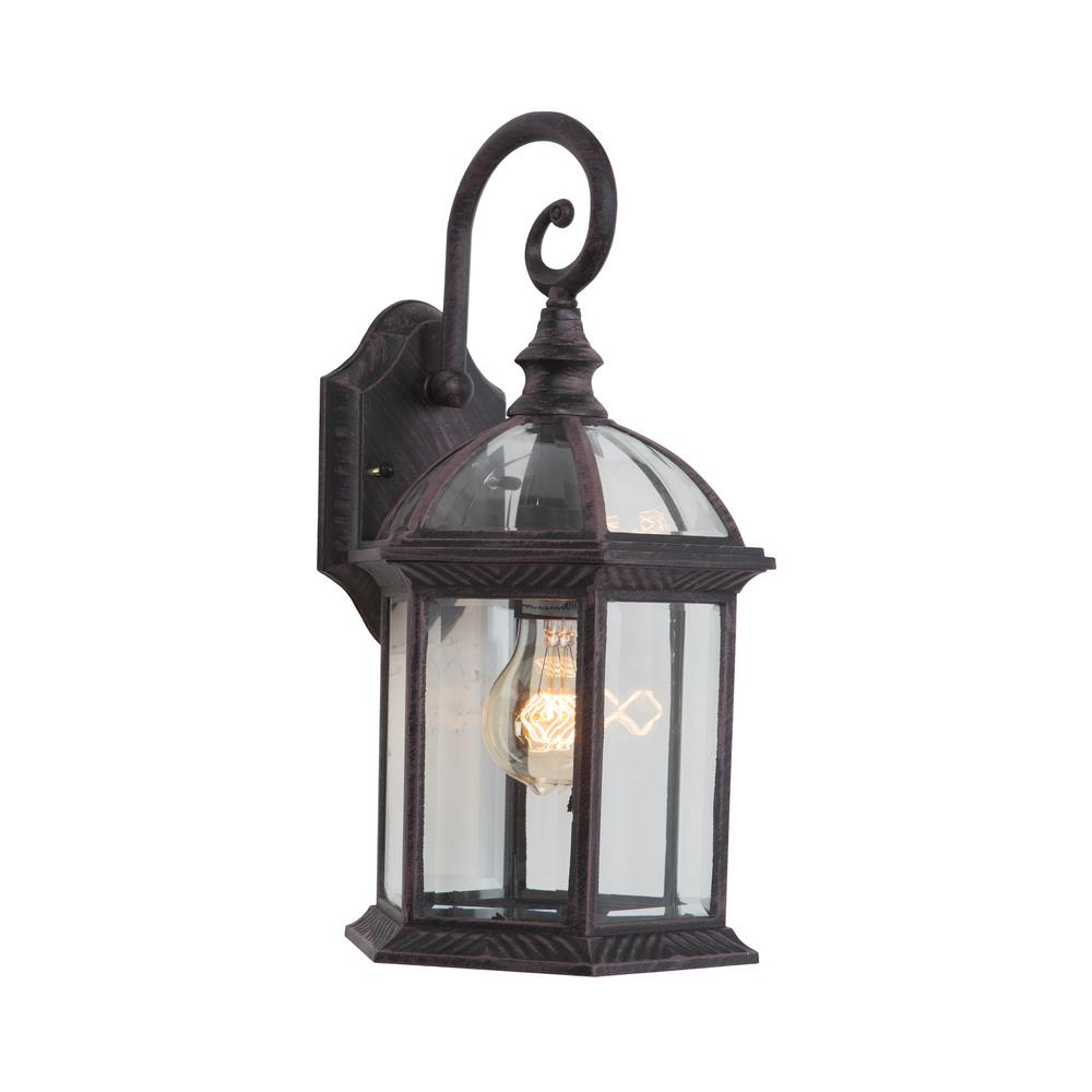 Yosemite Home Decor Anita Collection 1 Light Venetian Bronze Outdoor     Yosemite Home Decor Anita Collection 1 Light Venetian Bronze Outdoor  Wall Mount Lamp