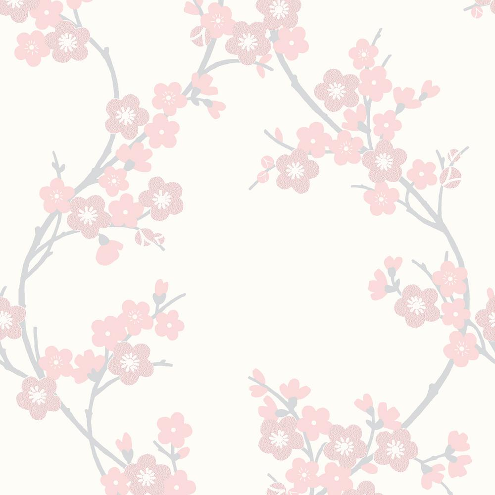 Graham Brown Soft Pink Cherry Blossom Wallpaper 20 811 The Home