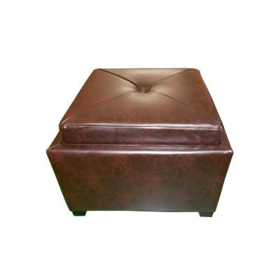 tray top ottomans living room
