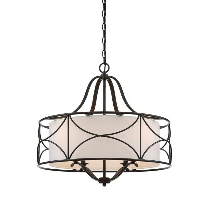 Designers Fountain Avara 4 Light Oil Rubbed Bronze Interior Chandelier 88684 Orb The Home Depot