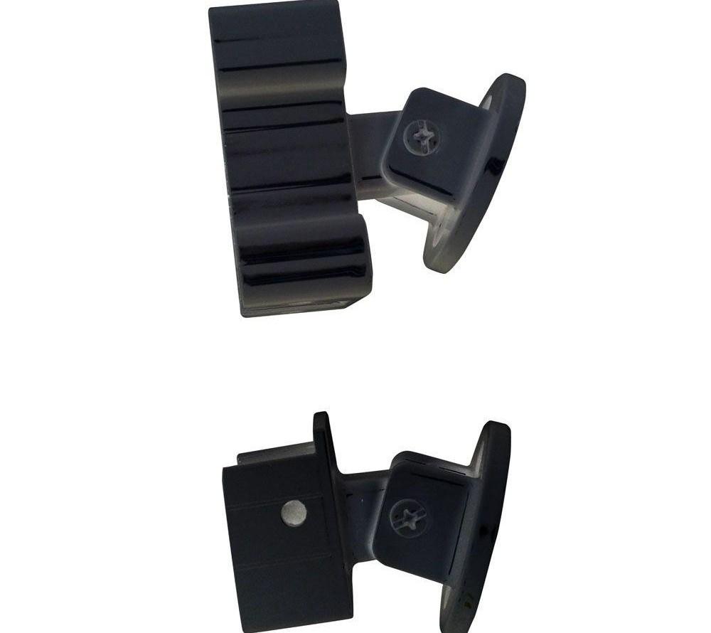 Peak Aluminum Railing Black Aluminum Stair Hand And Base Rail | Black Aluminum Stair Railing | Exterior | Modern | Steel | Cable Rail | Deckorators