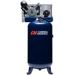 Campbell Hausfeld 80 Gal Vertical Electric Two Stage Stationary Air Compressor 14CFM 5HP 208