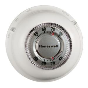 Honeywell Round HeatCool ThermostatCT87N  The Home Depot