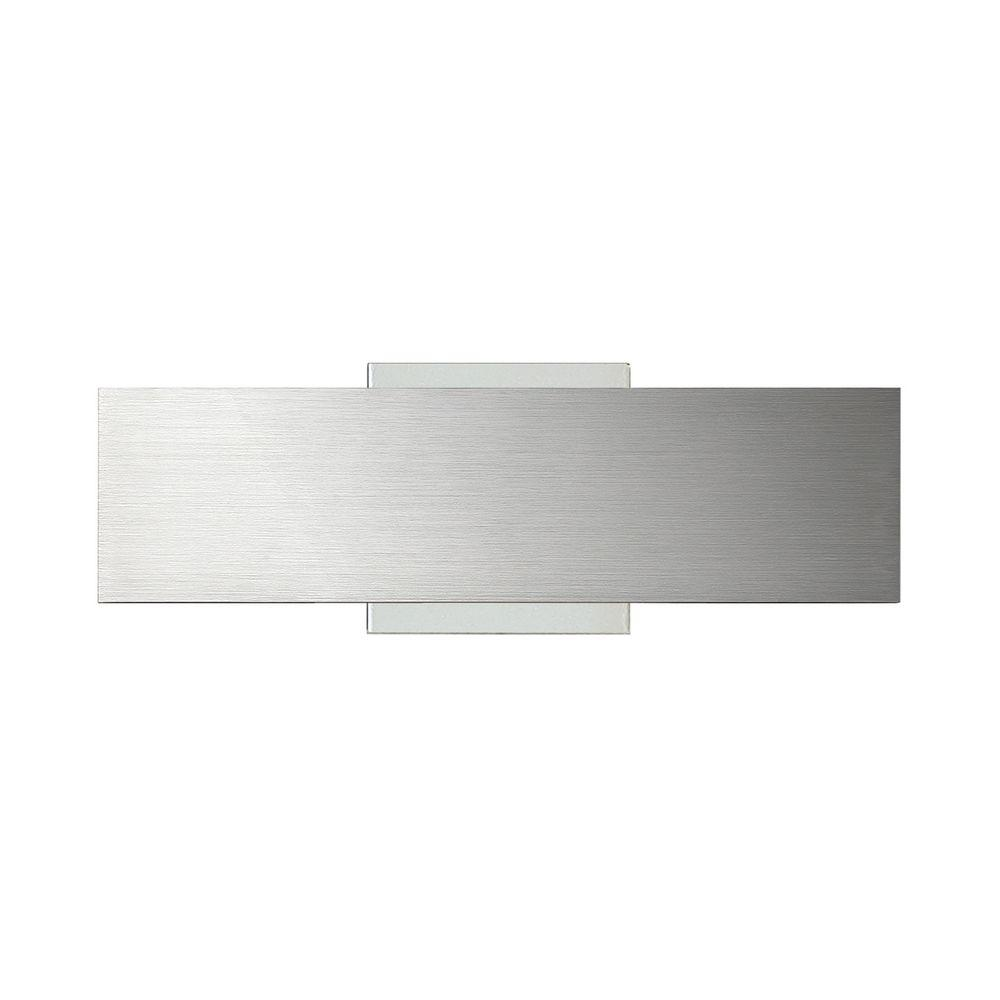 Eurofase Expo Collection 1-Light Small Aluminum LED Wall ... on Small Wall Sconce Light id=88079