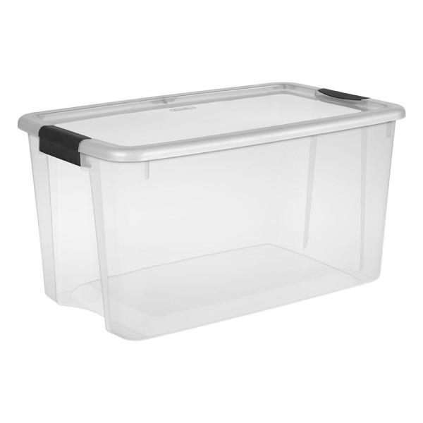 Sterilite 70 Qt. Ultra Storage Box-19888604 - The Home Depot