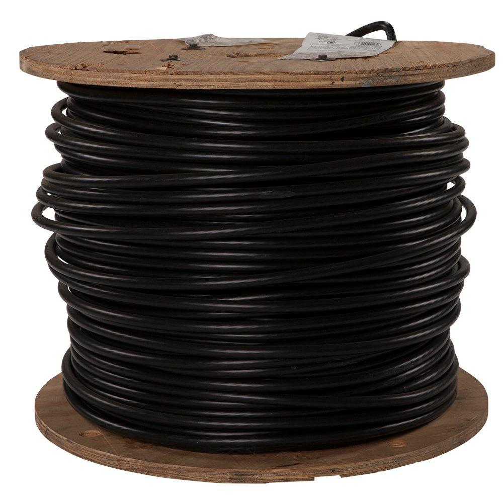 Southwire 500 Ft 3 0 Black Stranded Cu Simpull Thhn Wire
