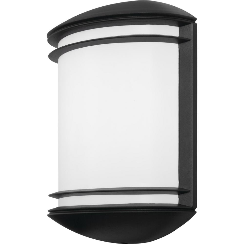 Lithonia Lighting OLCS Bronze Outdoor Integrated LED Wall ... on Sconce Outdoor Lighting id=81022