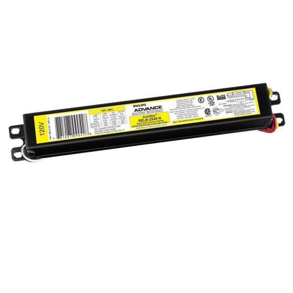 ambistar 40watt 2lamp t12 rapid start high frequency electronic  replacement ballast
