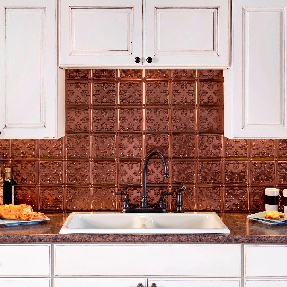 Best Kitchen Gallery: Oil Rubbed Bronze Tile Backsplashes Tile The Home Depot of Foil Kitchen Tile on rachelxblog.com