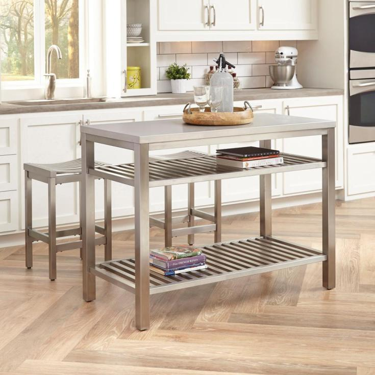 stools - kitchen islands - carts, islands & utility tables - the