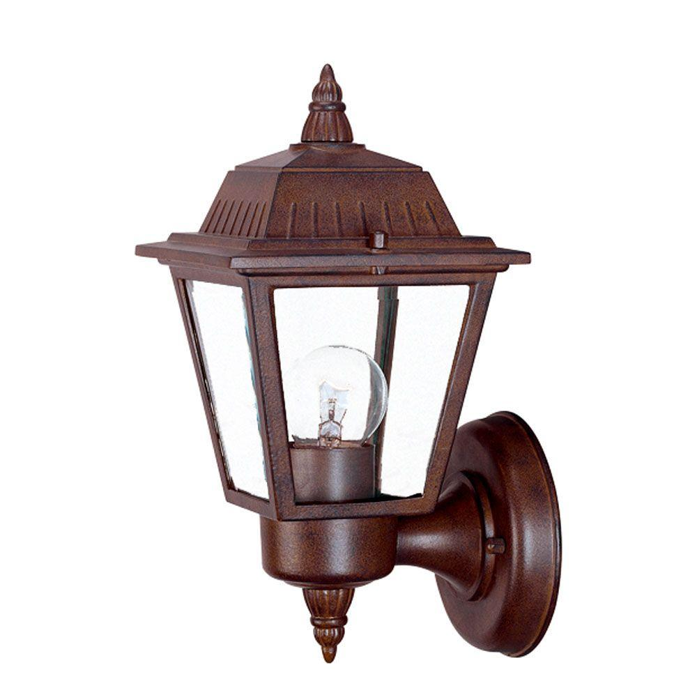 Acclaim Lighting Builder's Choice Collection 1-Light ... on Outdoor Lighting Fixtures Wall Mounted id=31807