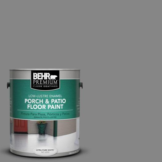 Behr Premium 1 Gal Pfc 63 Slate Gray Low Re Interior
