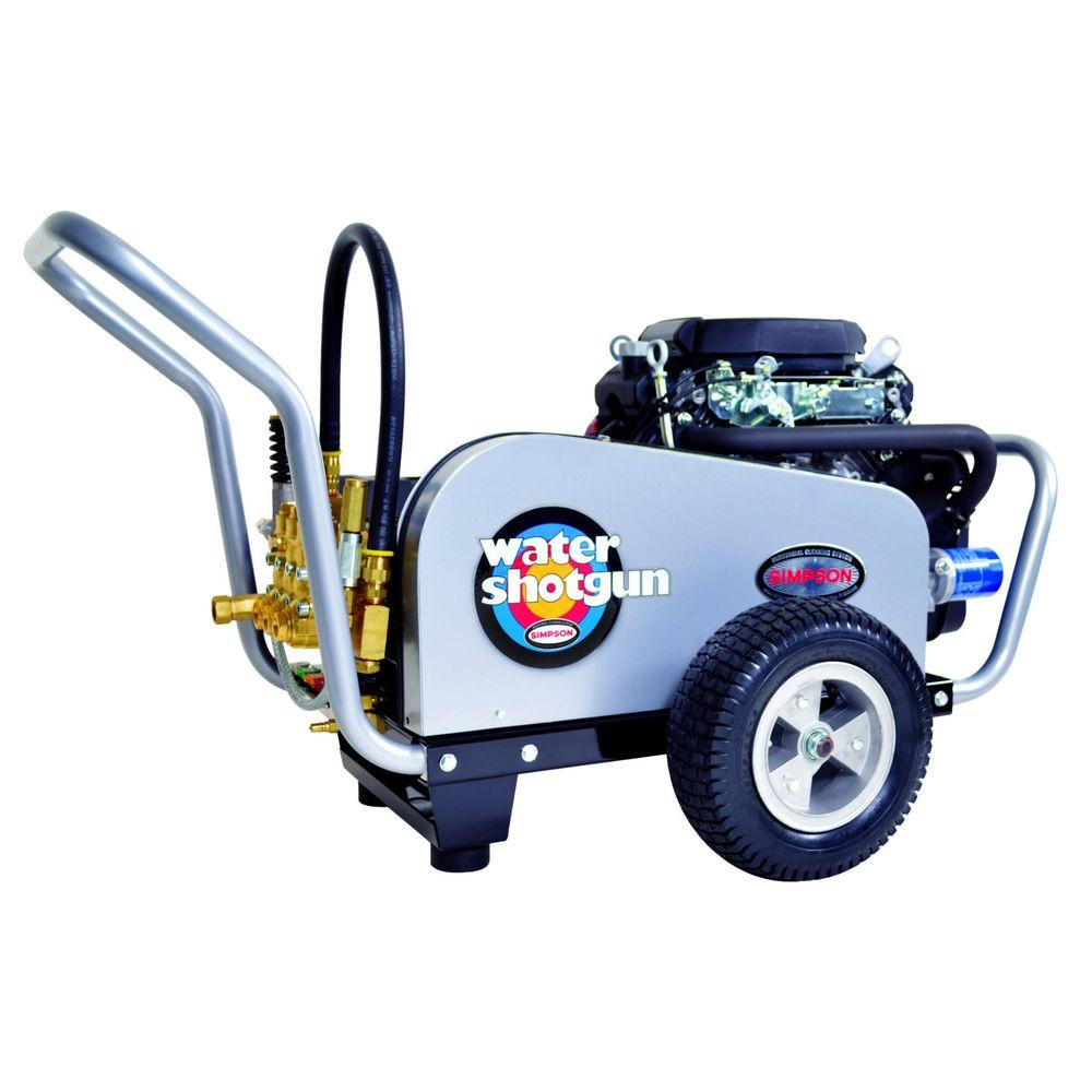 Simpson Water Shotgun 5000 Psi 50 GPM Gas Pressure Washer Powered By Honda WS5050H The Home