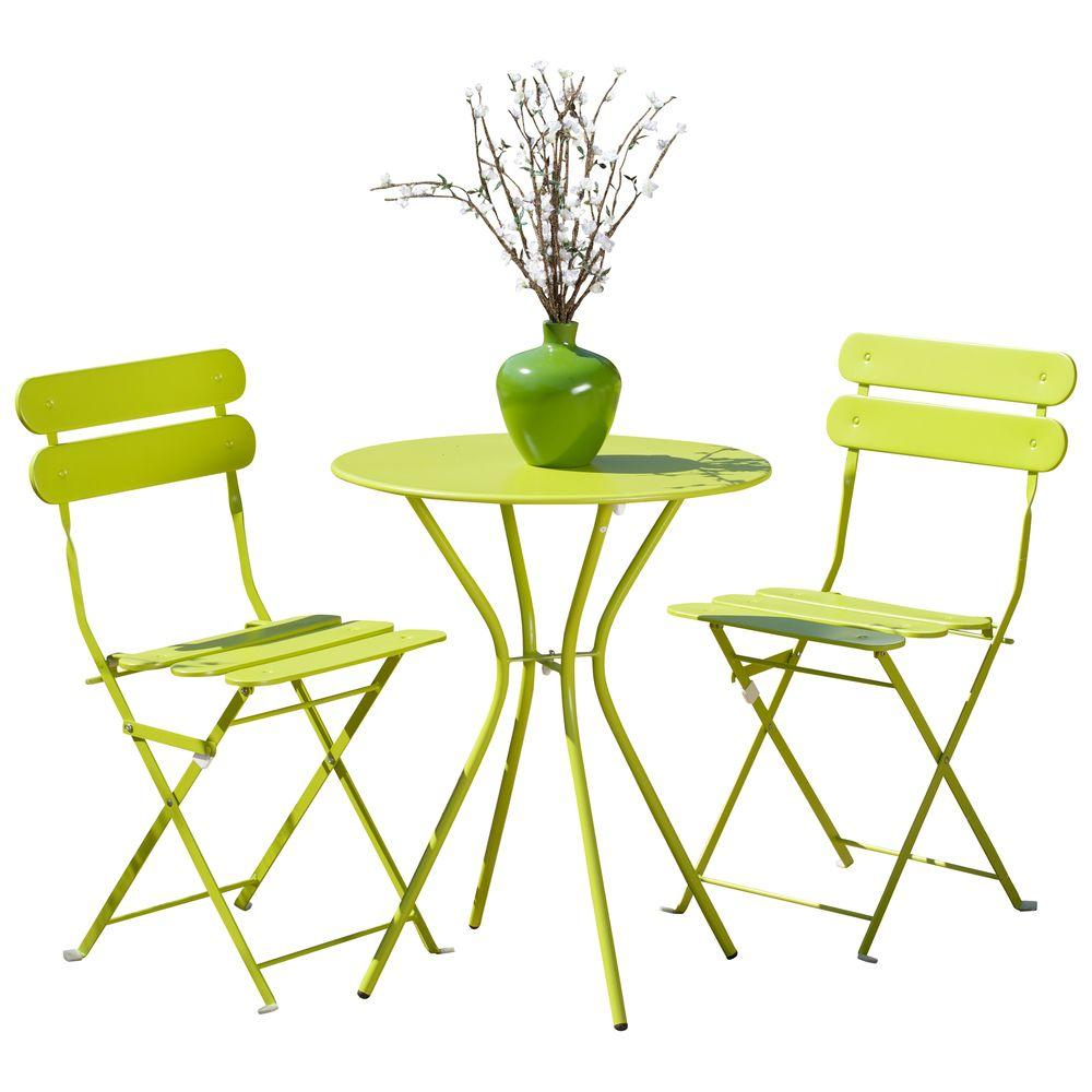 rst brands sol green 3 patio bistro set op bs3 sol on Green Bistro Set id=44064