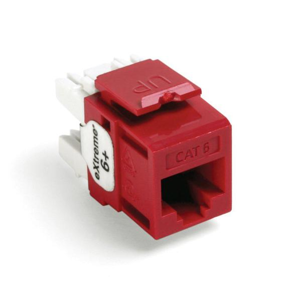 leviton quickport extreme cat 6 connector with t568a/b