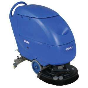 Floor Scrubbers   Polishers   Hard Surface Cleaners   The Home Depot Focus II L20 Disc Commercial Walk Behind Automatic Scrubber
